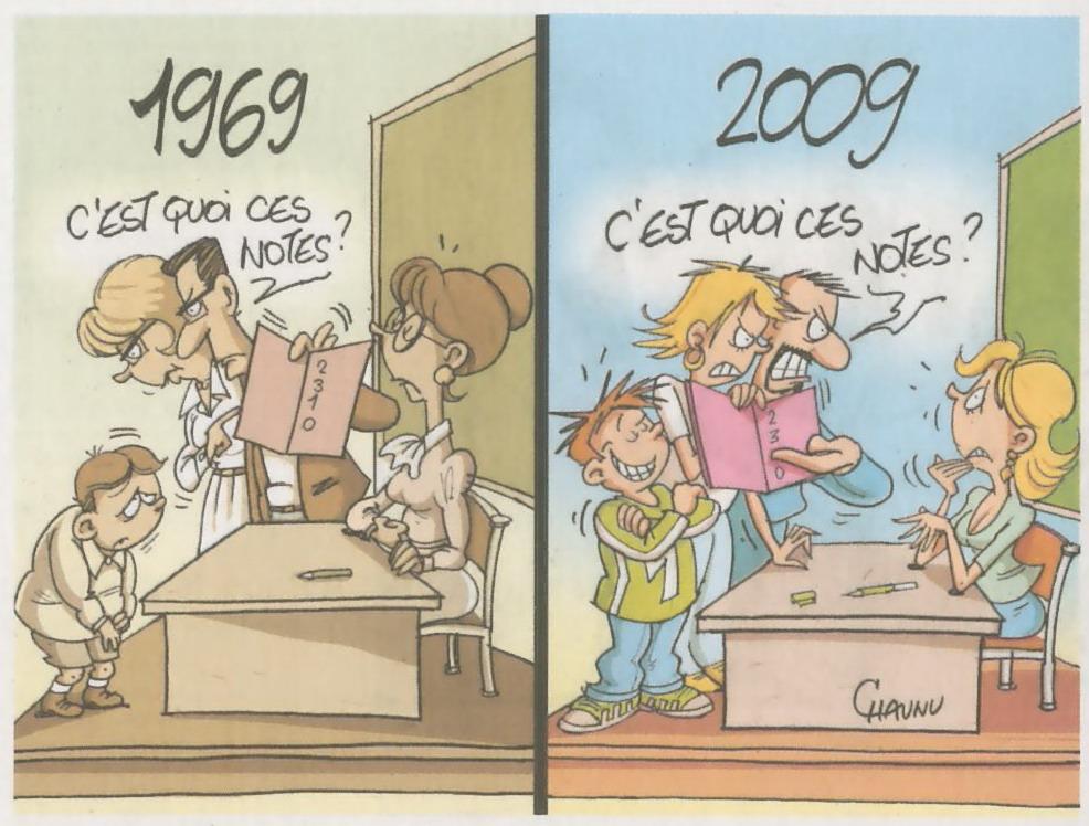 école, profs, parents, élèves